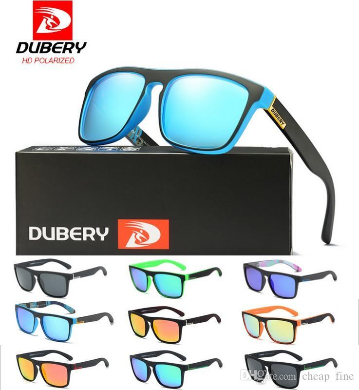 Dubery 2019 polarisierte Sonnenbrille Männer Aviation Driving Shades Männlich Sonnenbrillen für Männer Retro Günstige Luxus-Designer-Sonnenbrillen D731 MOdel