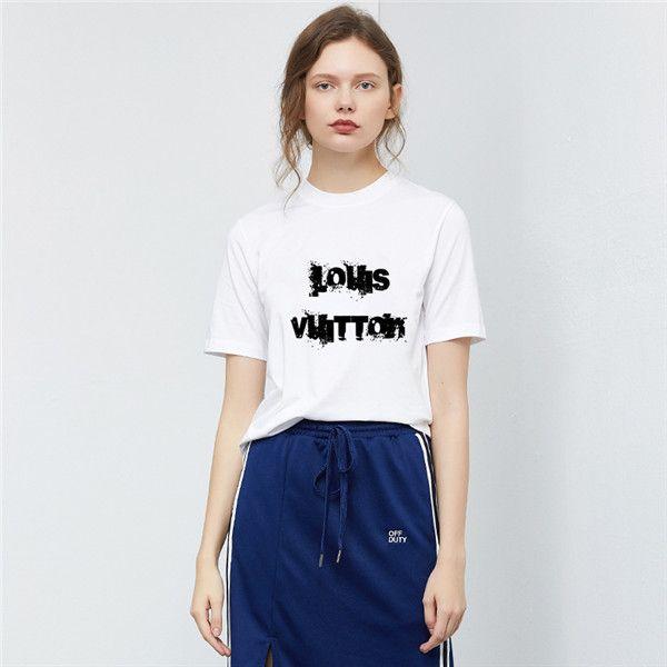 New Summer Fashion Men and women T-shirt students Luxury design Short-sleeved Tee Boys girls casual T-shirt tops #445