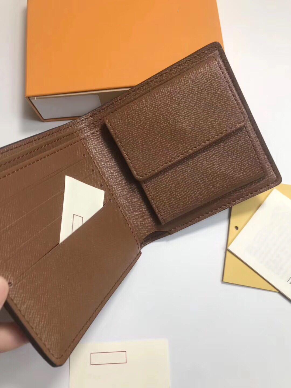 Venta al por mayor Almacenamiento Crédito de bolsillo monedero monedero bolsa de moda bolsa de cuero multifunción tarjeta de hombre clip moneda casual cuadrado corto NCQMF