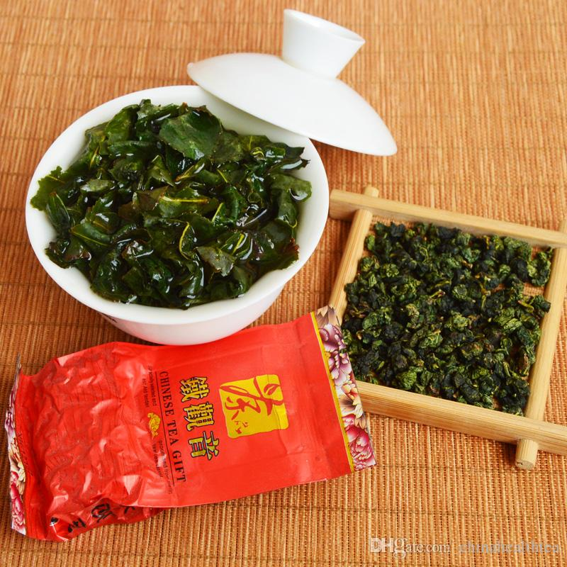 РАСПРОДАЖА !! 500g 64small сумки Улун Tieguanyin Китай Чай Здоровье Зеленый продовольственной Анкси Tiekuanyin Бесплатная доставка + подарок