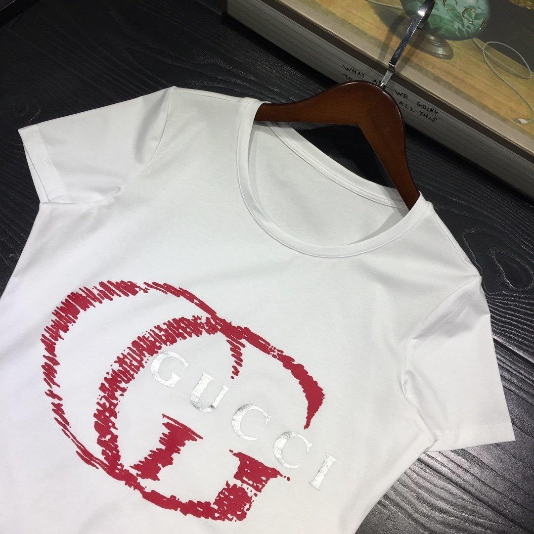 las mujeres O8P02020 resorte de alta calidad de manga corta y camiseta de la manera ocasional del verano de las mujeres y confortables FSYT ropa