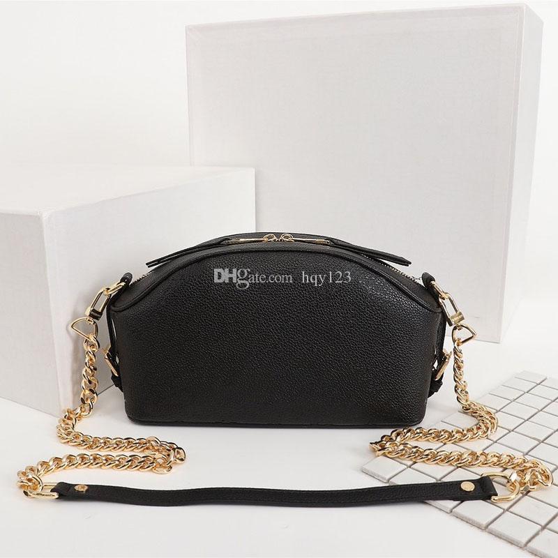 di lusso delle donne del progettista bag di moda donna in vera pelle goffrata Borse spalla del modello di dimensioni 26 * 16 * 10cm modello M51506