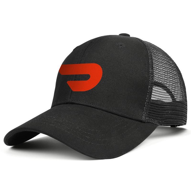 Унисекс Красного DoorDash Логотип Регулируемого Trucker Cap Болл на заказ Уникального Vintage Baseball Hat Doordash эффект 3D американский флаг логотип флэш-золото