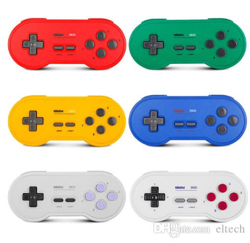 8Bitdo SN30 Bluetooth Gamepad Retro Game Controller Lexible Joysticks Four Shoulder Button Turbo Function for Nintendo Switch