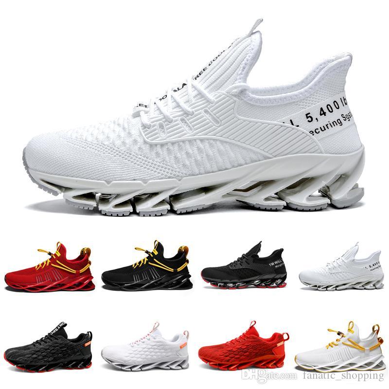 2020 Небрендовые Кроссовки Мужчины Chaussures Тройной Черный Белый Красный Мужские Тренеры Открытый Бег Спортивная Ходьба Кроссовки 39-44 Стиль 12