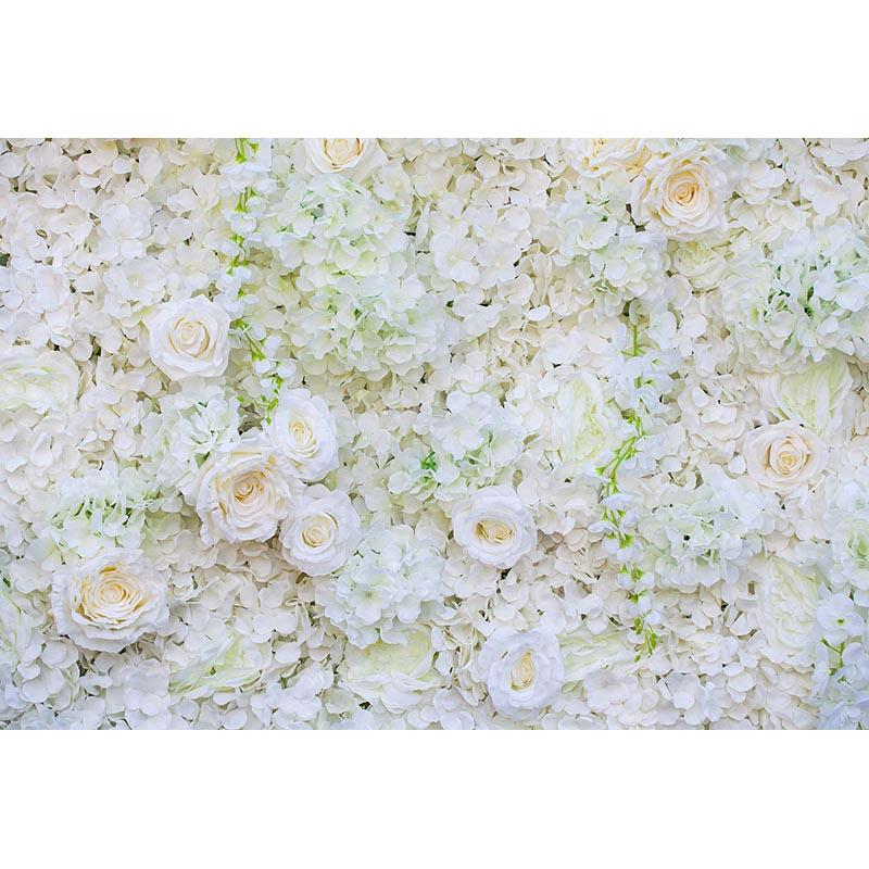 2019 Mehofoto Flower Wall Photo Background Wedding Decoration For Bride Shower Display Wall White Flowers Backdrop Video Custom 236 From Athenal