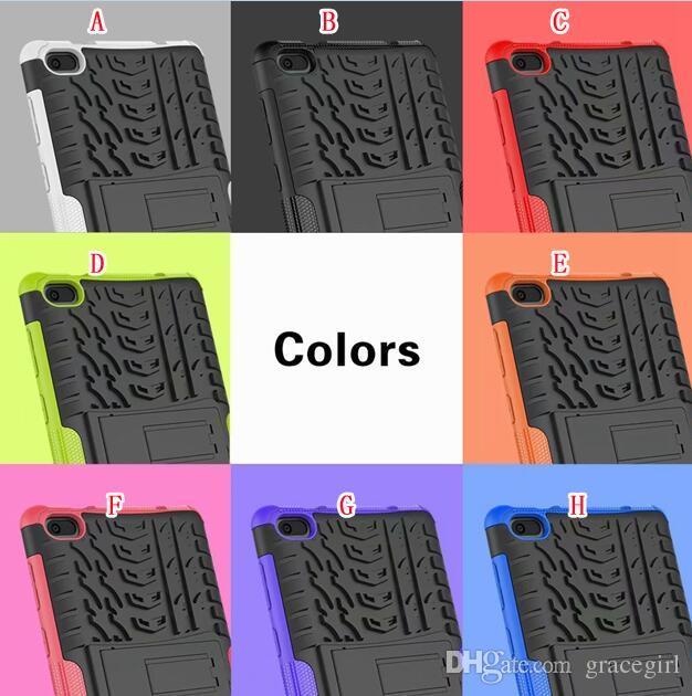 "Shockproof Stand Hybrid Case For Lenovo TAB E7 Tab 3 7.0 730 Tab 3 Plus Tab4 10"" Tablet Dizzle Kickstand Back Defender Camo Skin Cover 1pcs"