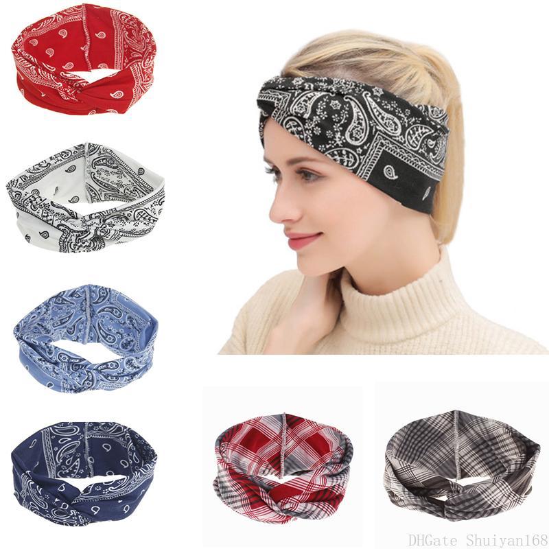 Böhmische Druckknoten Stirnband Bogen Haarband Vintage Blume Twist Kreuz Haarschmuck Für Frau Mädchen Schmuck Weihnachten Geschenke