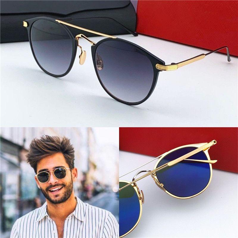 Novo design de moda óculos de sol retro quadro populares do vintage uv400 lente de qualidade superior proteção para os olhos estilo clássico 0015
