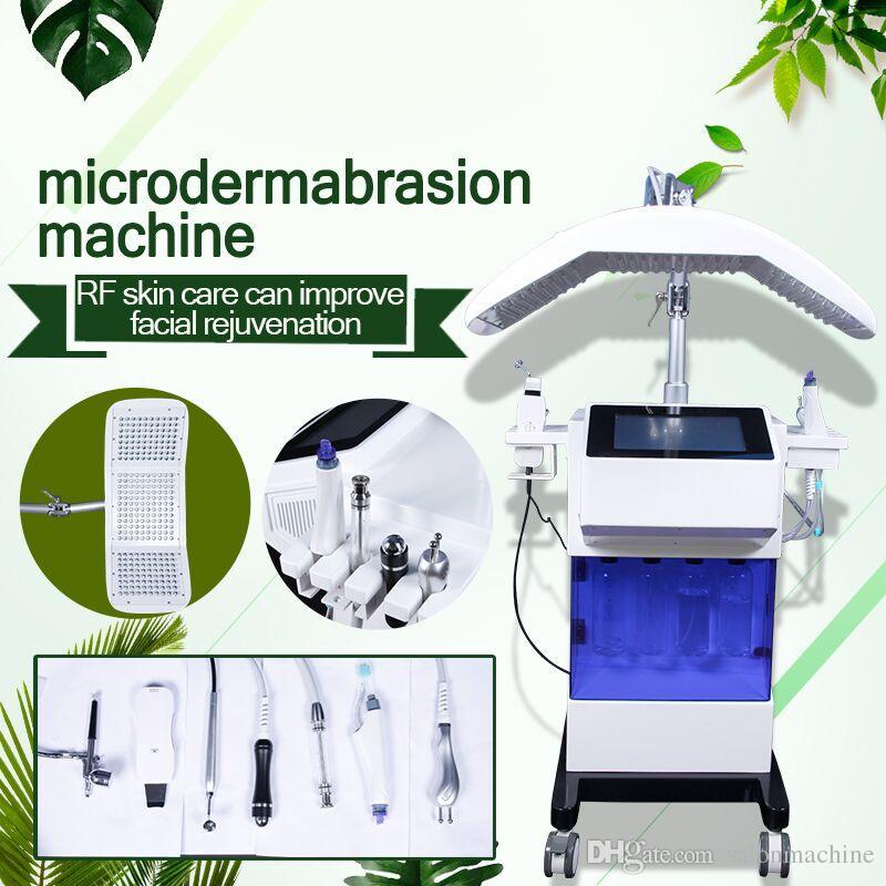 علاج حب الشباب الجلدي المائي hydra Diamond Dermabrasion Machines جهاز الغسيل بالجلد الموجات فوق الصوتية حاقن الأكسجين يعزز تجديد خلايا الجلد
