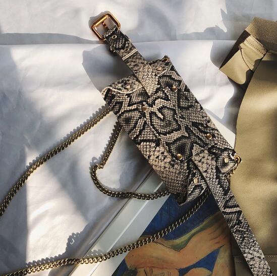 디자이너 럭셔리 허리 가방 여성 체인 가방 패션 클래식 어깨 가방 휴대용 음흉한 전화 Crosscody 가방 레트로