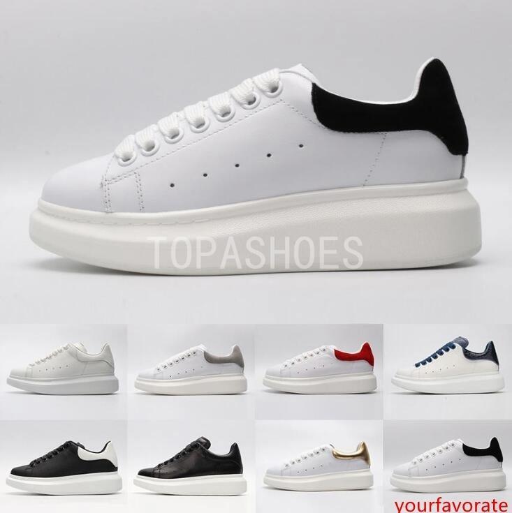 2019 ACE pas cher noir blanc rouge de luxe Styliste Chaussures Femme Or Low Cut en cuir plat DESIGNERS femmes d'hommes occasionnels chaussures de sport 36-44