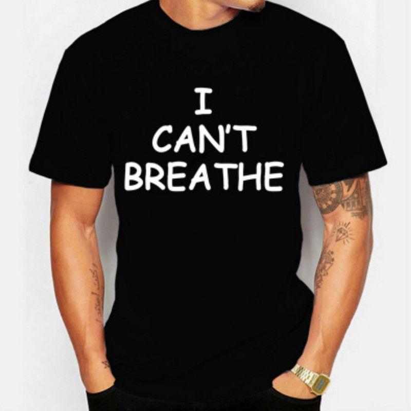 Mens Fashion T-Shirts für Männer Tops Letter I Cant-T-Shirt Aktive Kleidung NewShort T-Shirt Trendy Tops 2020 Qualitäts-Breathe