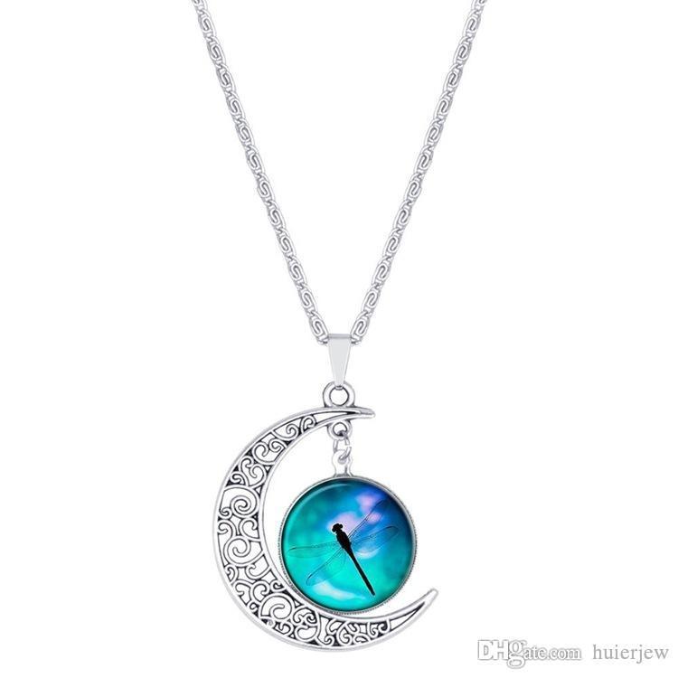 Charms Halsketten für Mondanhänger Halskette