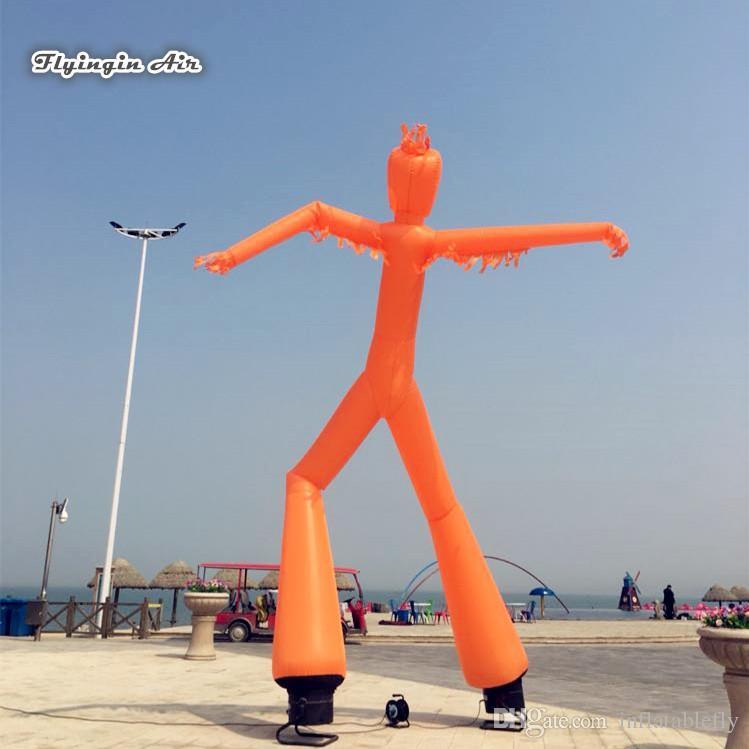 Ballerino di rimbalzo gonfiabile del cielo dell'aria di altezza 6m dell'uomo della metropolitana di pubblicità all'aperto con 2 gambe per la manifestazione di evento