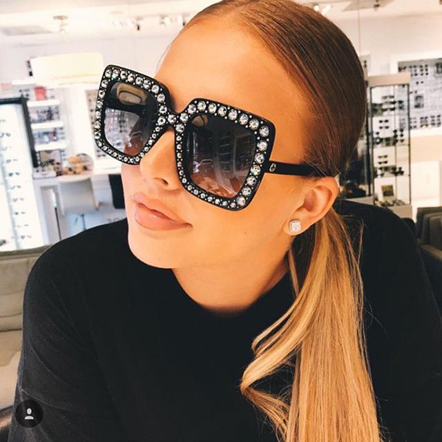 women luxury designer sunglasses Women Brand Cheap Size Sun Glasses Ladies 2019 New Gradient Oculos Mirror Shades