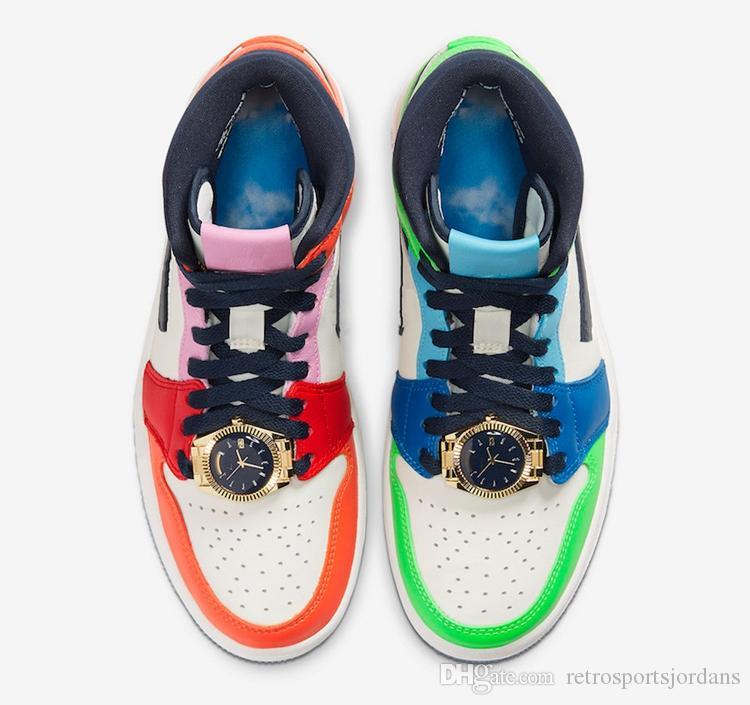 Womens Kız Beyaz Siyah Yarım Mavi Habanero Kırmızı Melodi ehsani Shoes 1 Orta Korkusuz Sneaker Erkek Basketbol ayakkabıları x