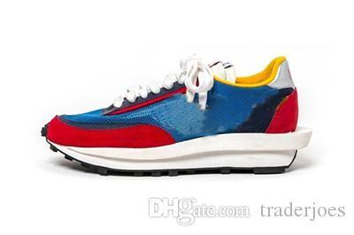 Box ile Erkekler Spor Ayakkabıları Boyut US5.5-12 Siyah Grey için 2020 Erkek ve Bayan Koşu Ayakkabı Sneaker