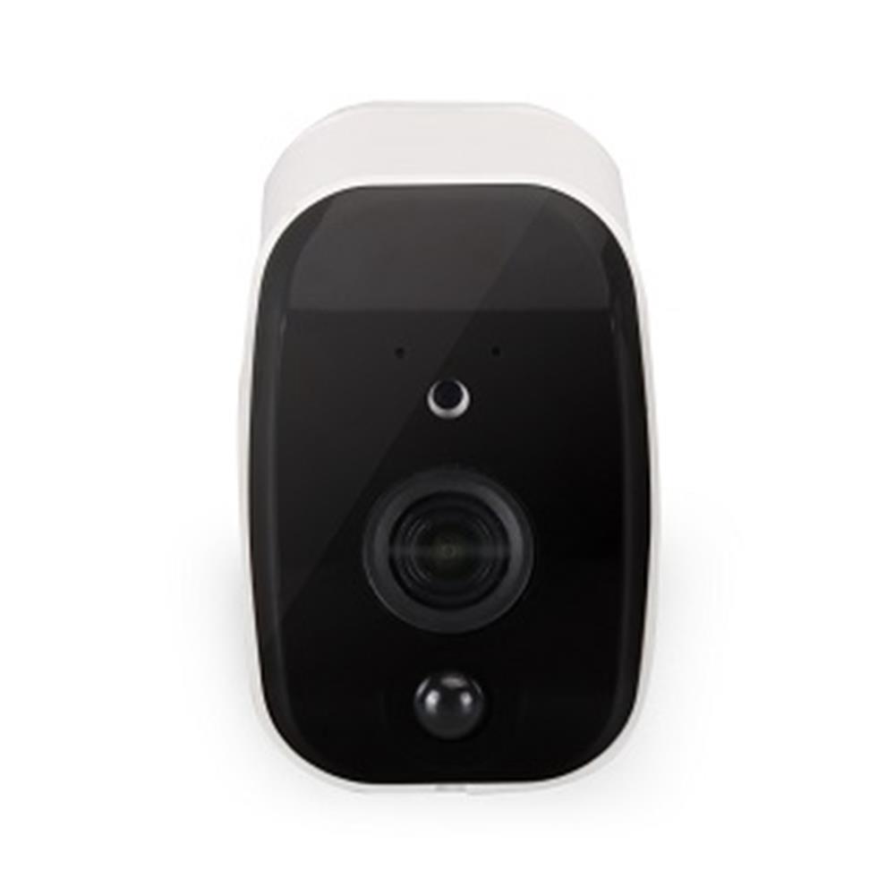 ZC-IPC208 1080P 야외 보안 무선 IP 카메라 PIR 동작 탐지 H.265 APP 모니터 저전력 방수 - 화이트