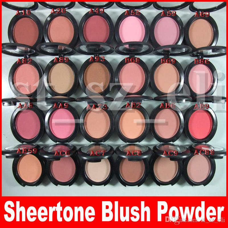 New Face Makeup 6g Sheertone Blush pressed powder palette 24 Different Colors