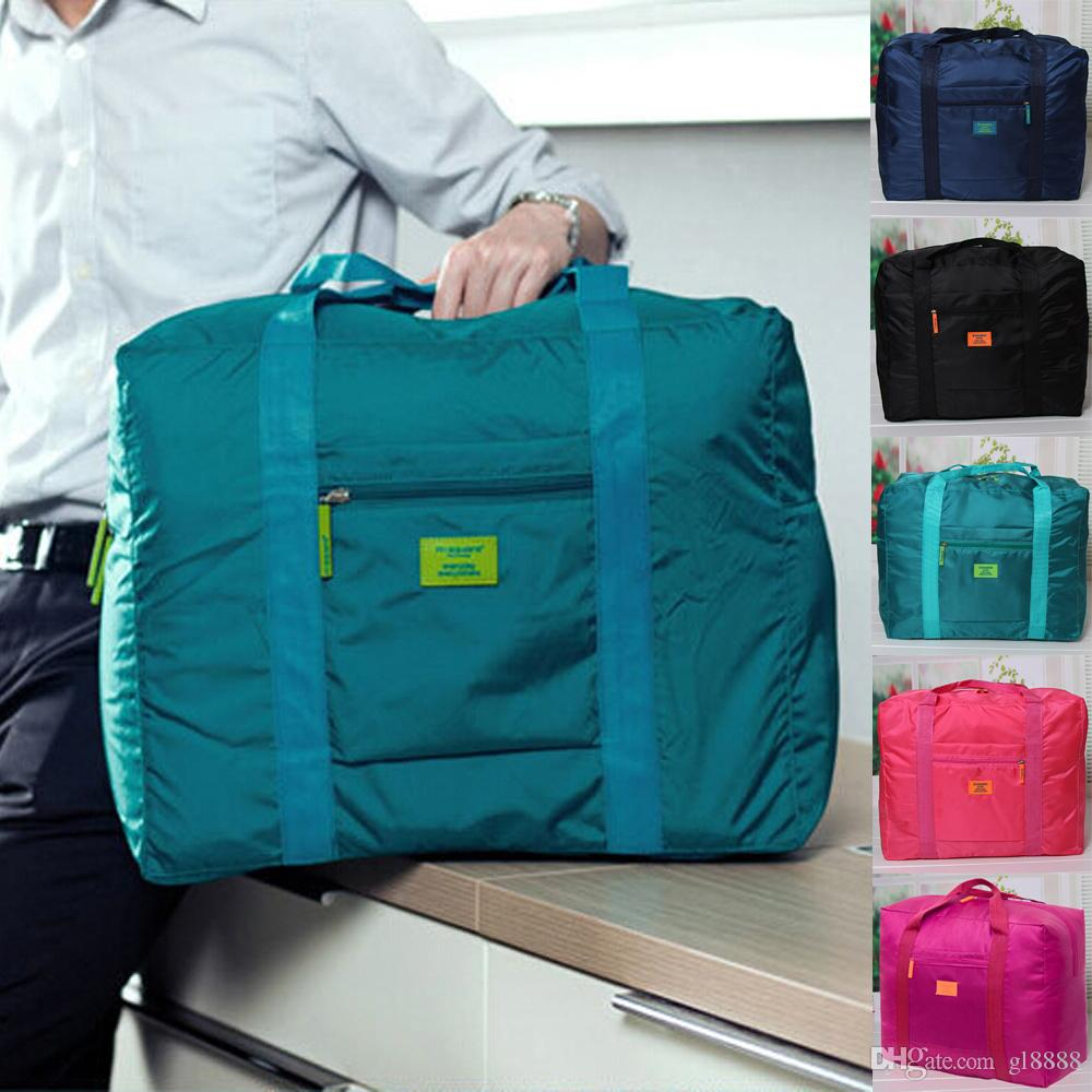 الرجال النساء طوي ماء الحقيبة للسفر الأمتعة حقائب الكتف حقيبة واق من المطر