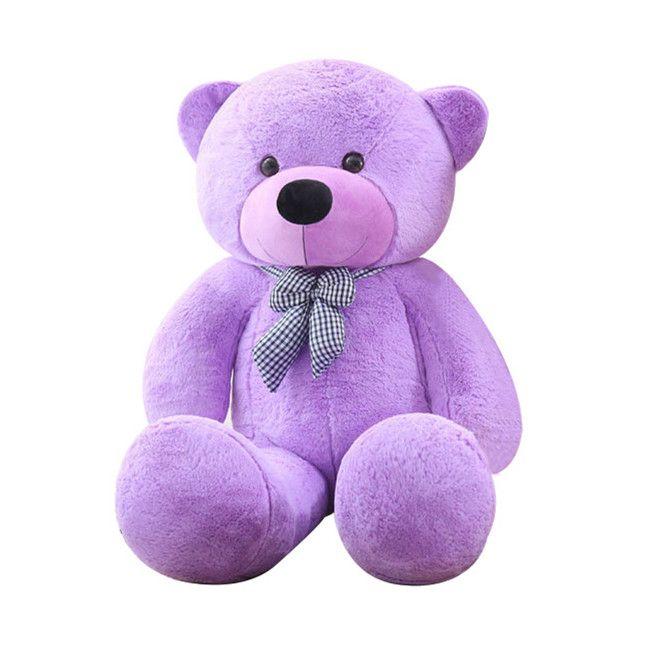 80cm / 31 inch Giant Teddy Bear Plush Toys Life Size Doll Big Huge Oversized Stuffed Animals Soft Toys Kids Love Valentines Day