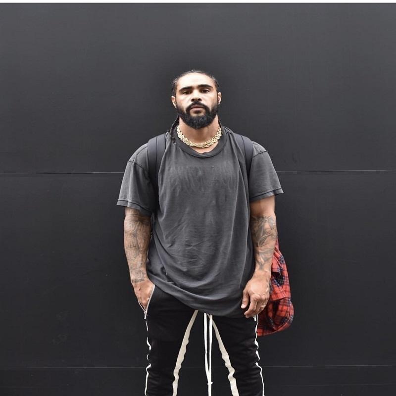 Hzijue Vintage Black T-shirt Men Us Size Fashion Heavy Washed Camisetas para hombres Slim Fit O Neck Top Tees Hombre de manga corta Y19072201