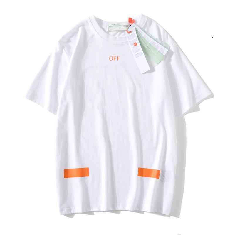 2020 hombres de alta calidad de manga corta de moda de verano camiseta casual cómodo cuello redondo camiseta ropa de moda OIFFFKW1