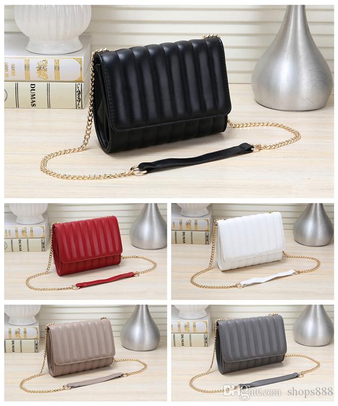 2019 yeni deri flap omuz çantaları flap kadın messenger çanta çanta debriyaj Mini Zincir Omuz Çantaları