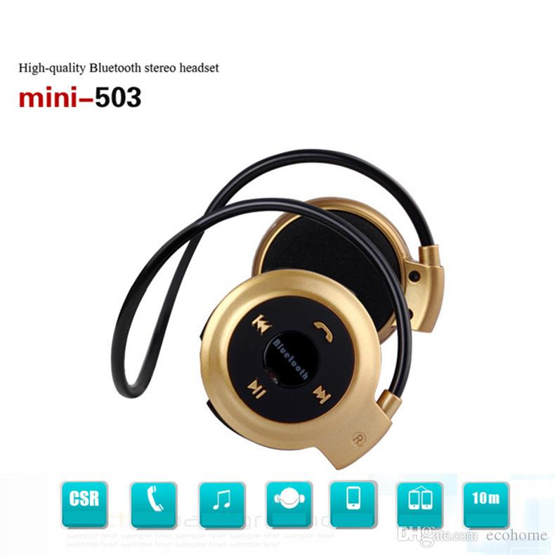 Sports Bluetooth Headset Wireless Headphones Tf Card Support Earphones Running 503 Mini Stereo Good Quality Sounds Fm Radio Over Ear Headphones Running Headphones From Ecohome 5 74 Dhgate Com