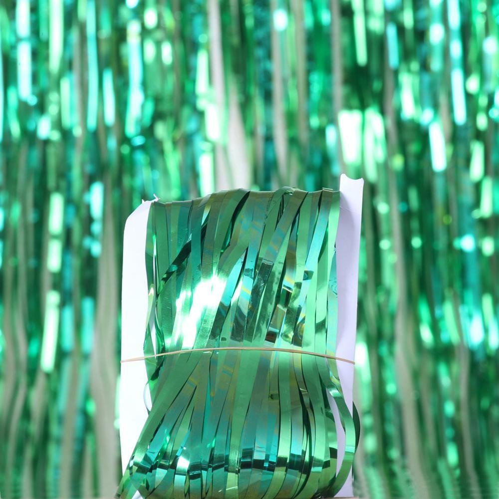 Bachelorette Party Backdrop Rideaux Glitter Rose Tinsel Fringe Film Rideau Anniversaire de mariage Décoration adulte anniversaire Décor