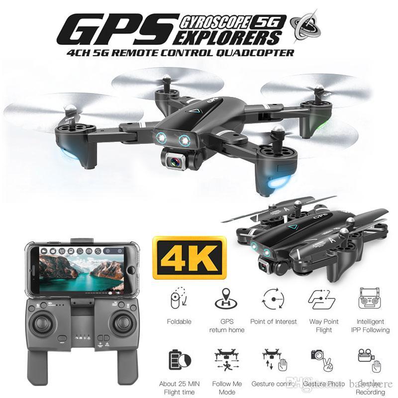 ZWN Z36 GPS Quadcopter С 720P / 1080P / 4K HD камеры Вертолет Rc GPS неподвижных точек WIFI FPV Drone Режим Follow Me против SG900-S E520S