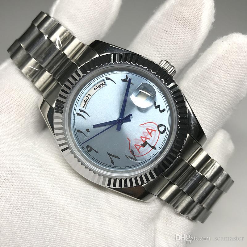 Fashion gute Qualitätsmänner Sport-Uhr-Gold 18K DayDate Serie 40MM Gold Zifferblatt 2813 Qualitäts-automatische Bewegungs-Saphir-Original-Schließe