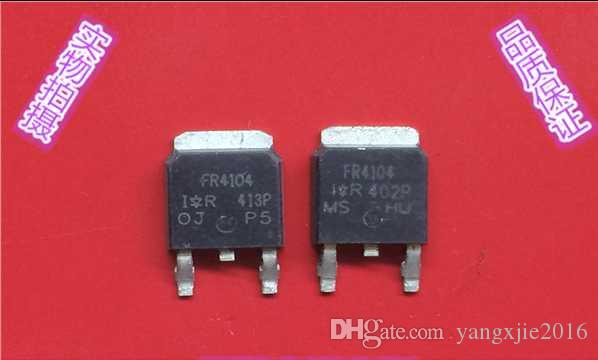 Essai original utilisé par MOSFET TO-252 du transistor FR4104 à effet de champ original