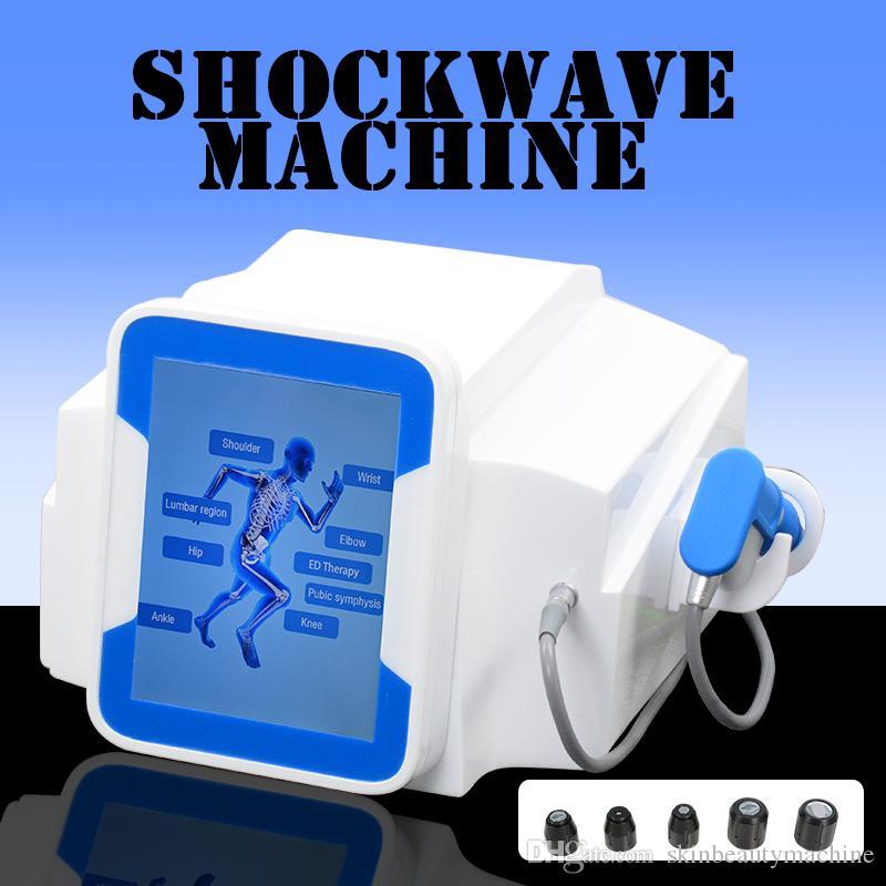2019 Nouvelle extracorporelle onde de choc Therapy Acoustic Machine d'onde Onde de choc Soulagement de la douleur de l'arthrite onde de choc Équipement de la technologie