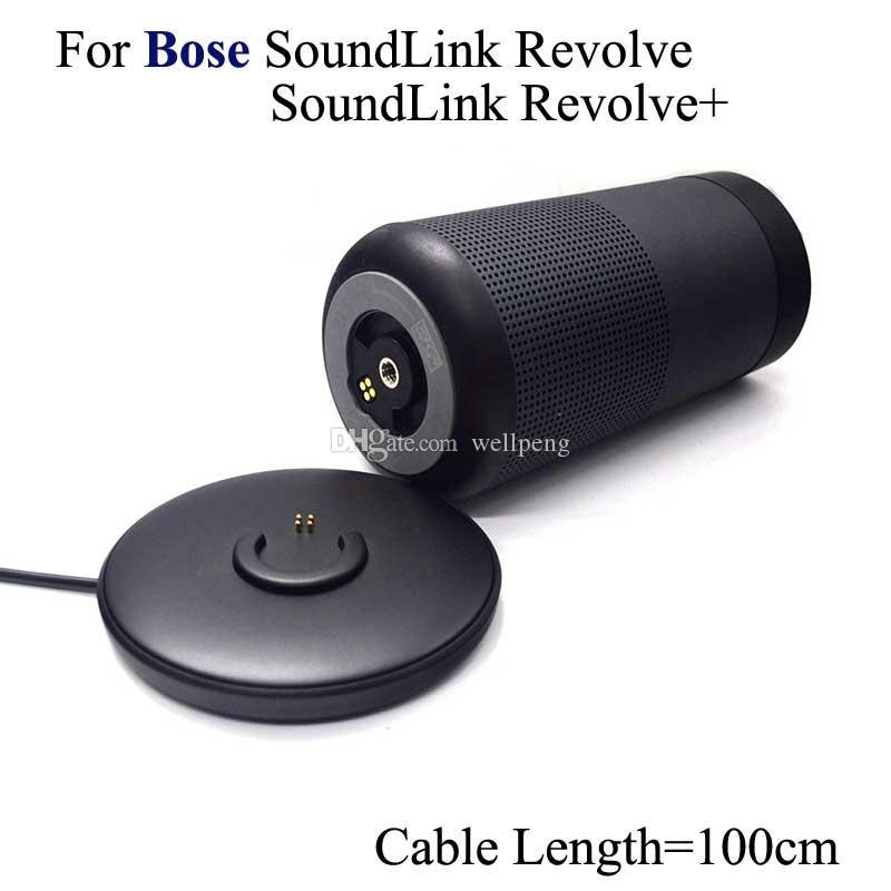 Для Bose Soundlink Revolve Revolve + зарядная база Bluetooth-динамика Базовое зарядное устройство Зарядное зарядное док-станция с 1М USB-кабелем