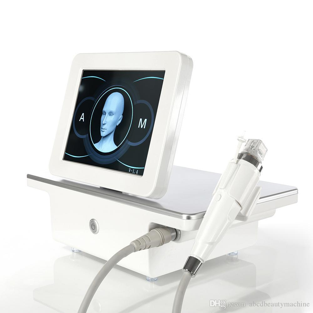 En İyi Etkisi Kesirli RF Taşınabilir Mikroneedle / RF Mikroneedle / RF Makineleri Yüz ve Vücut Cilt Kaldırma Kırışıklık Temizleme Korkutucu Kaldırma