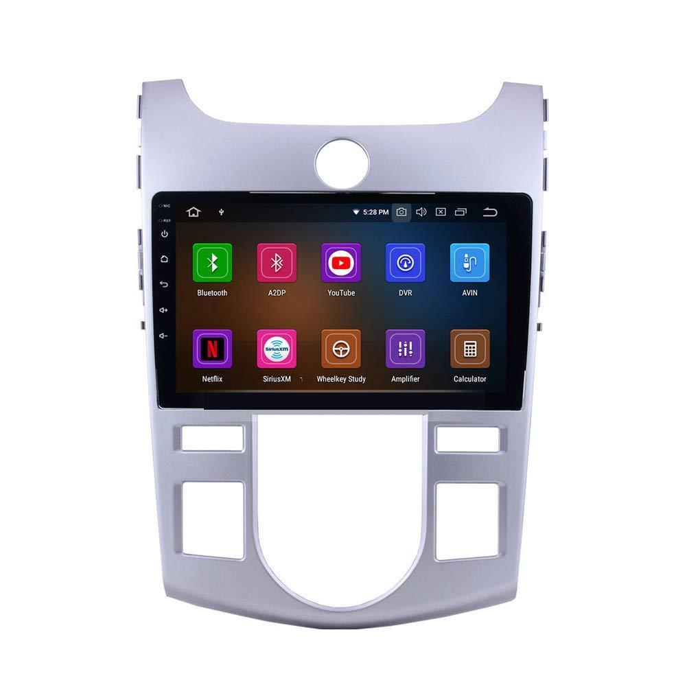 9 بوصة الروبوت 9.0 سيارة مشغل الفيديو الوسائط المتعددة لكيا فورتي (في) 2008-2012 مع بلوتوث واي فاي GPS والملاحة دعم SWC