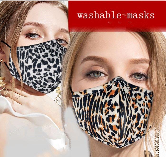 Adultos lavável máscara facial Haze Capa protetora Rosto Imprimir boca-mufla Ciclismo boca mufla Máscaras Sports Anti-poeira MMA3498