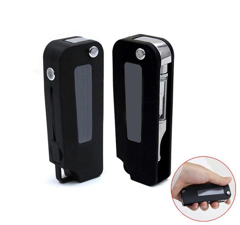 Chiave per batteria 350mAh Vape Mod Batteria a tensione variabile per auto nero argento per 510 filo Vape Pen