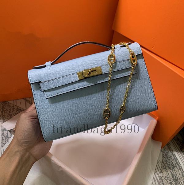 Top quality 22cm Avocado Fashion Bags Women MIni Totes Purse Handbag Shoulder bags Lady Calfskin Genuine leather Fashion Handbag