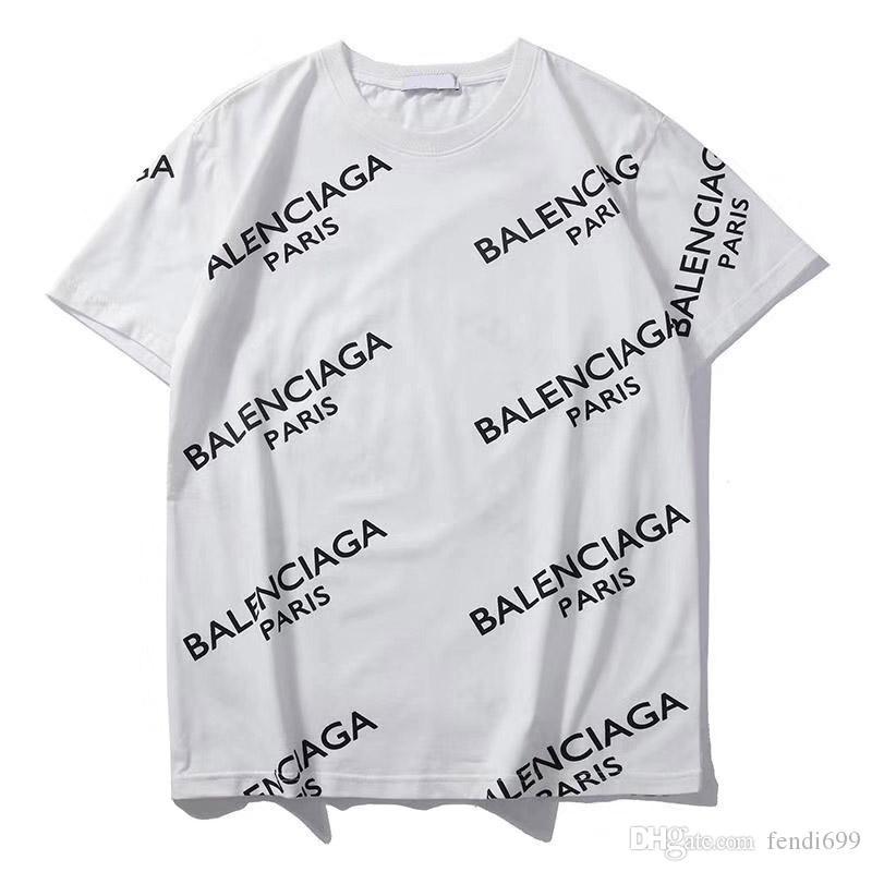 20 Fashion Designer T-shirt Casual Mens New Arrivals das mulheres New Verão Camiseta Marca Top Tees manga curta com Marca Carta # 821