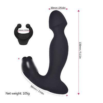 Anal-clitoride-Vibratore Dildo-Double-Stimolare-Massage-Sex-Love-Butt-Plug-giocattolo A987