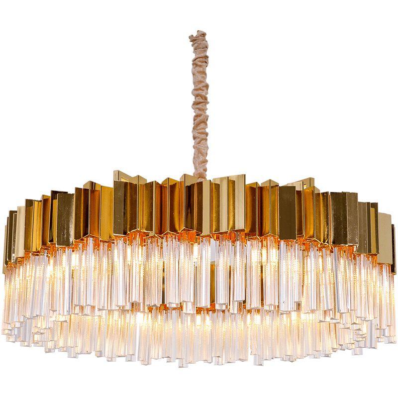 Postmodern restaurant chandelier simple creative personality villa duplex hotel restaurant atmosphere Nordic light luxury lamps led light G9
