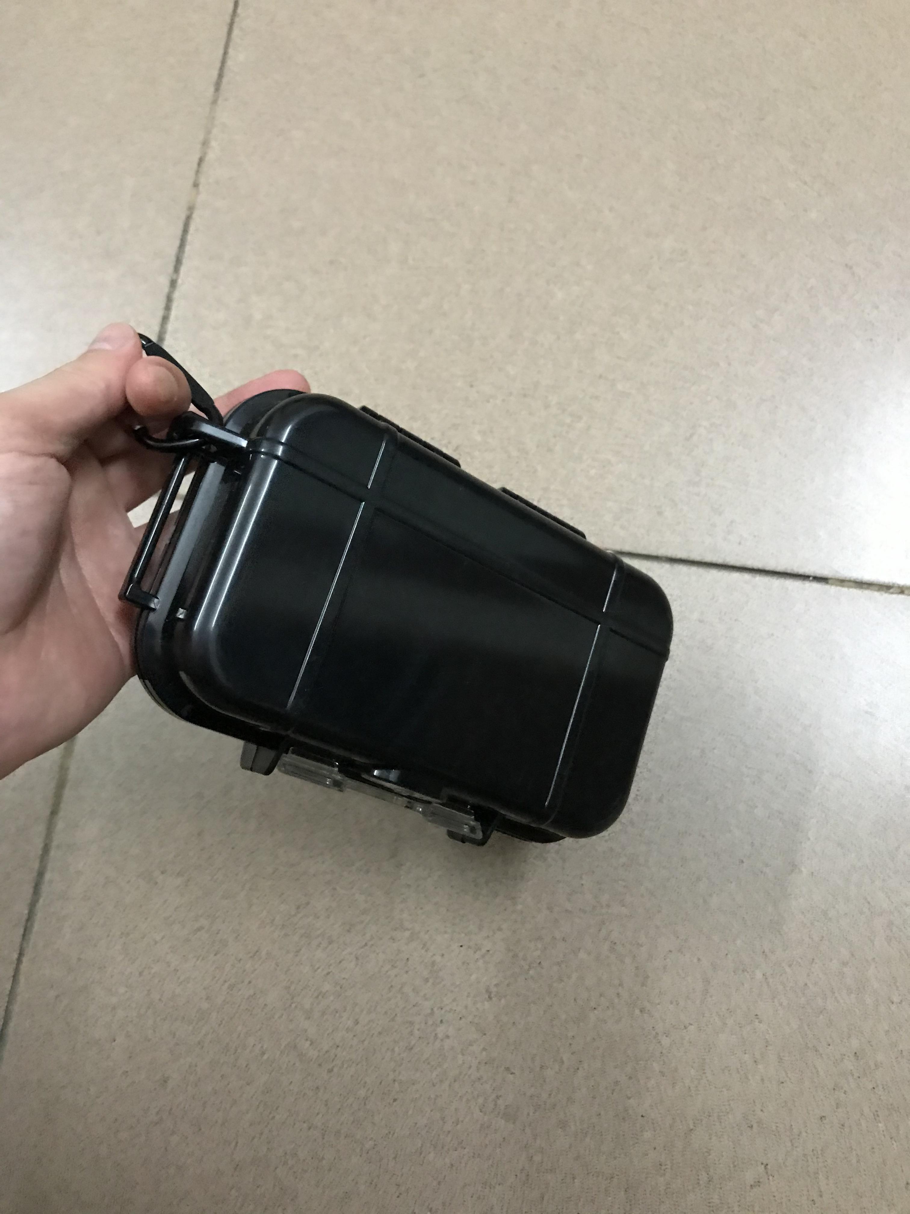 في الهواء الطلق البلاستيك للماء محكم بقاء حالة الحاويات التخييم في الهواء الطلق السفر صندوق تخزين