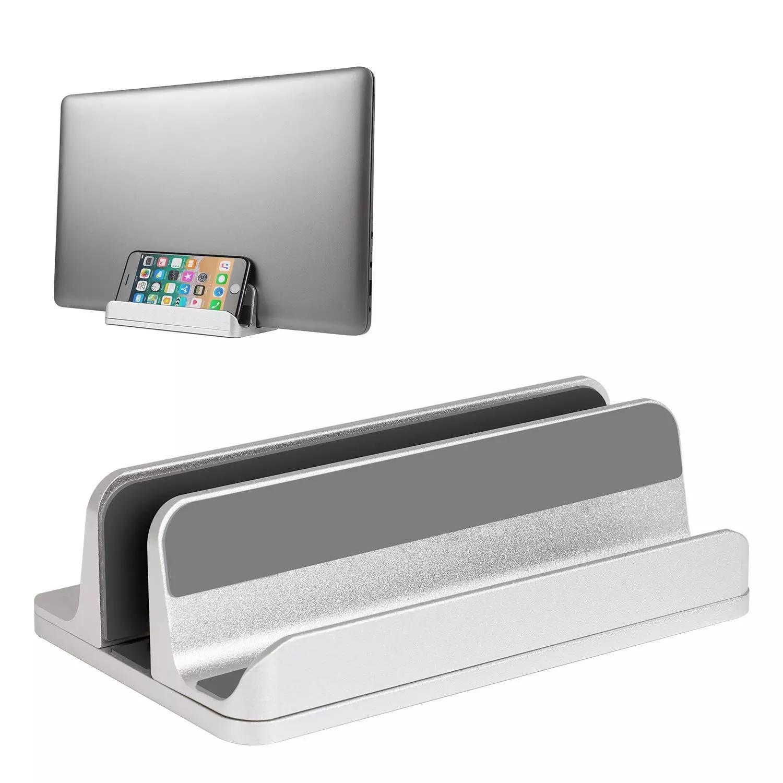 Laptop Stand Vertical, suporte de mesa Titular Laptop ajustável (até 17,3 polegadas) Compatível com MacBook Pro / Air, Microsoft Sur