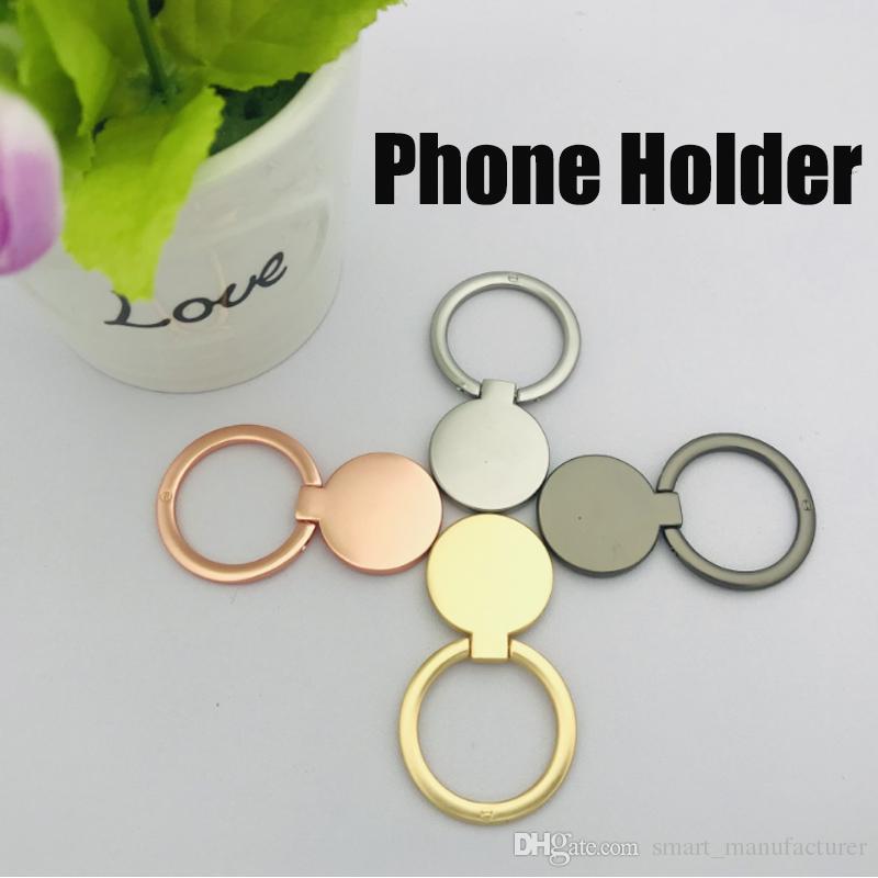 360 Titulaire de téléphone portable anneau paresseux support métal anneau support de téléphone mobile pour toutes les tablettes de téléphone mobile