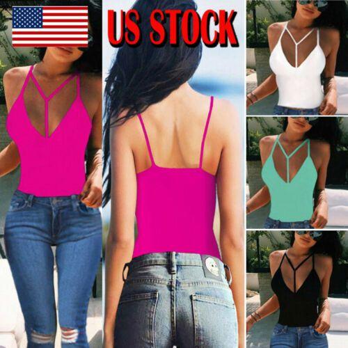 2019 mujeres del verano tapas ocasionales sin mangas chaleco atractivo de Cultivos Top Camiseta atractiva