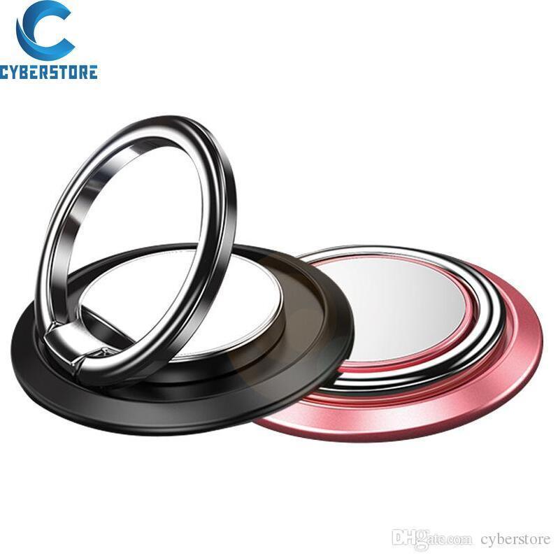 Cyberstore Universaltelefon-Ring Halter Ständer Finger Ständer 360 ° Rotation Metallgriff für Magnetic Auto-Halterung für iPhone 11Pro max x