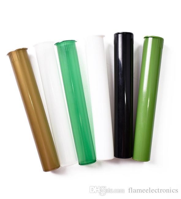 Пластиковый king-size doob трубка курение аксессуары водонепроницаемый водонепроницаемый запах доказательство запаха сигарета твердого хранения уплотнительные уплотнительные контейнер